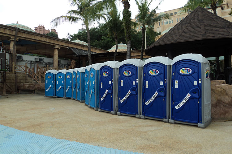 portable toilet supplier